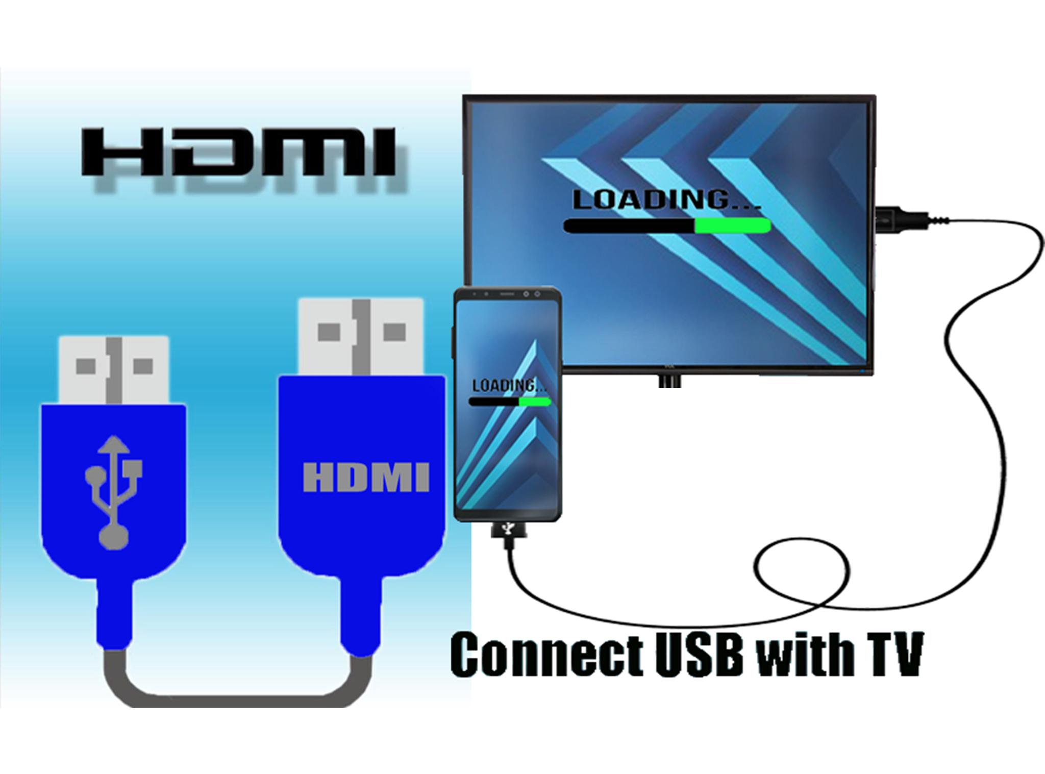 Pro Connector Usb - Phone to Tv for Android - APK Download