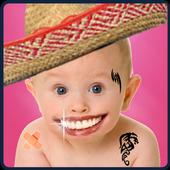 photo face fun personal photo icon