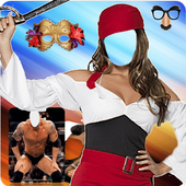 Photo montages costumes icon