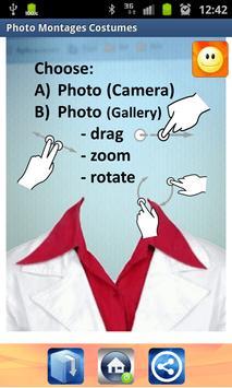 Photo montages costumes apk screenshot