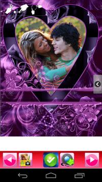 romantic true love photo frame screenshot 7