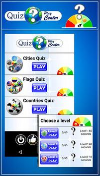 Quiz Play Center Geography poster