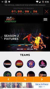 Pro Kabaddi League poster