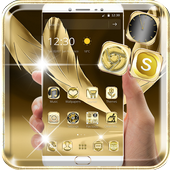 Luxury Gold Theme Gold Deluxe icon