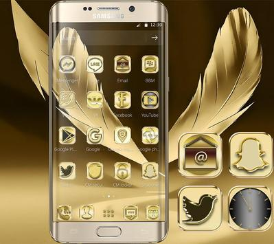 Luxury Gold Theme Gold Deluxe apk screenshot