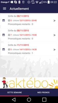 Pronozeo, pari sportif gratuit apk screenshot