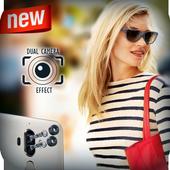 DSLR 4K HD Camera & Dual Camera Effect icon