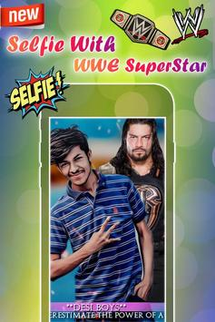 Selfie with WWE Superstars : WWE Photo Editor 2018 screenshot 3