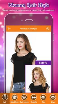 Hair Styler App poster