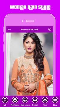Hair Styler App For Girls poster