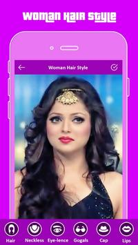 Hair Styler App For Girls screenshot 1