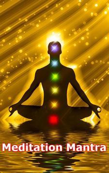 Meditation Mantra audio poster