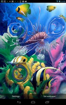 Aquarium 3D Live Wallpaper apk screenshot
