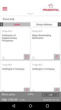Prudential Investor Relations screenshot 1