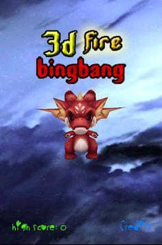 3D Fire Bingbang poster