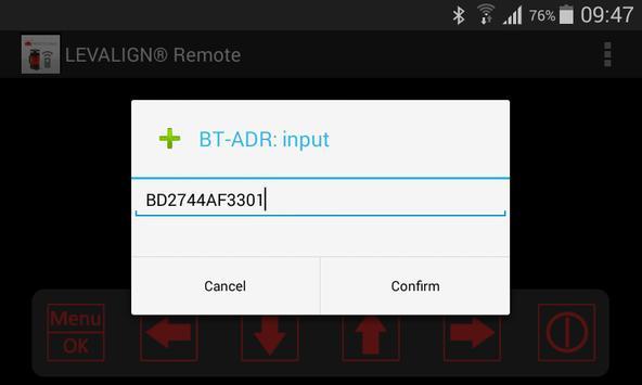 LEVALIGN expert Laser Remote apk screenshot