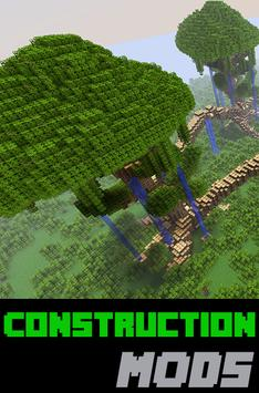Construction MODS For MCPE poster