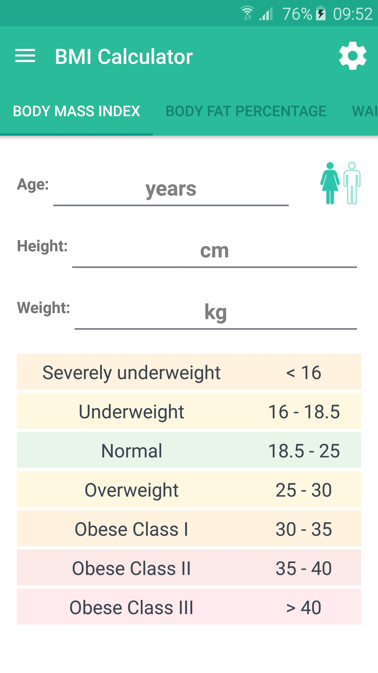 BMI Calculator for Android - APK Download