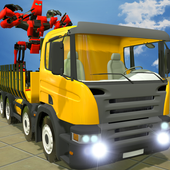 Truck Transport X Ray Robot icon