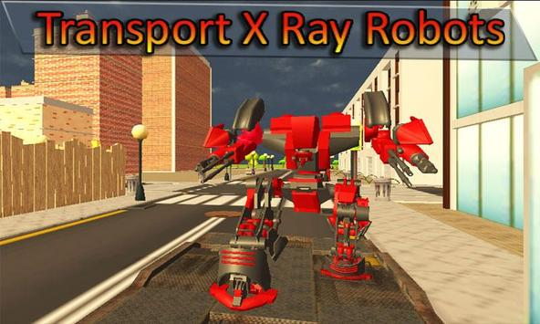 Truck Transport X Ray Robot poster