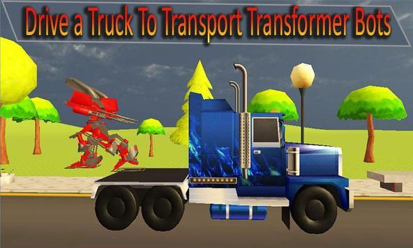 Truck Transport X Ray Robot apk screenshot