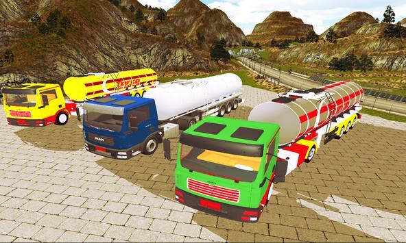 Oil Tanker Truck Simulator 3D apk screenshot