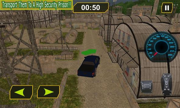 Army Prisoners Truck Transport apk screenshot