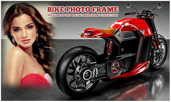 Sport Bike Photo Frame poster