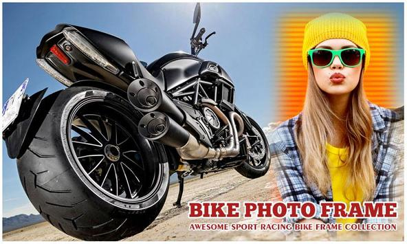 Sport Bike Photo Frame screenshot 1