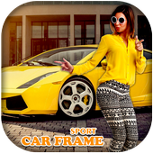 Sport Car Photo Frame icon