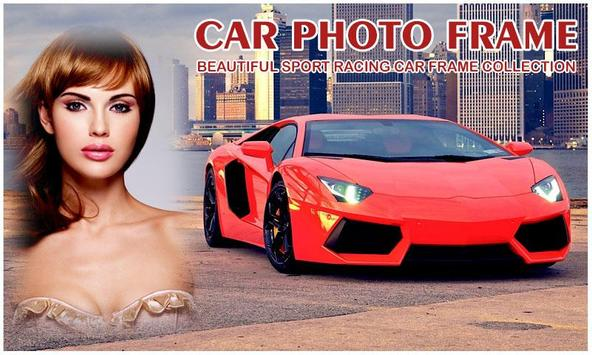 Sport Car Photo Frame poster