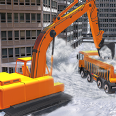 Snow Blower Excavation Shovel icon