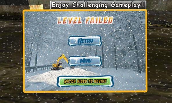 Snow Blower Excavation Shovel apk screenshot