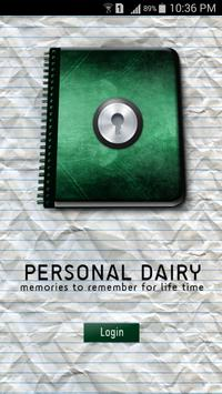 Personal Dairy for Life Time poster