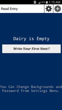 Personal Dairy for Life Time apk screenshot