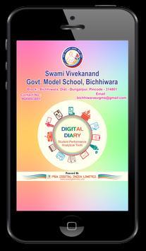 SVGMS Bichhiwara Digital Diary poster