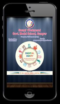 SVGMS Gangrar Digital Diary poster