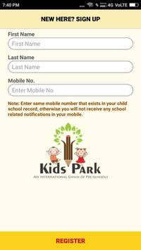 Kidspark Digital Diary screenshot 1