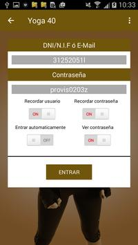Yoga 40 apk screenshot