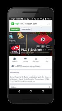 Psc Tv apk screenshot