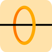 Circle And Line HD icon
