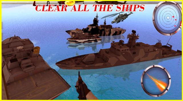 Modern Navy GunShip Air Combat screenshot 1