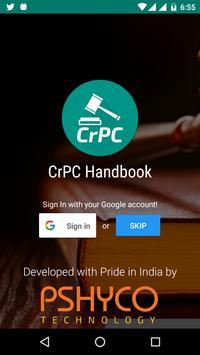 CrPC Handbook poster