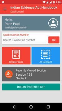 Indian Evidence Act Handbook screenshot 1