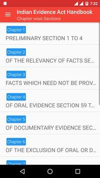Indian Evidence Act Handbook screenshot 2
