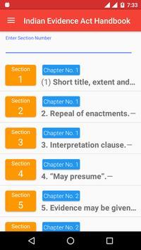 Indian Evidence Act Handbook screenshot 4