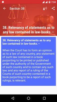 Indian Evidence Act Handbook screenshot 6