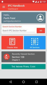 Indian Penal Code IPC Handbook screenshot 1