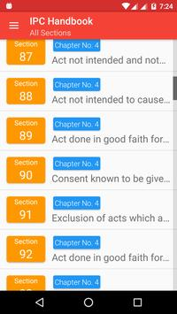 Indian Penal Code IPC Handbook screenshot 5