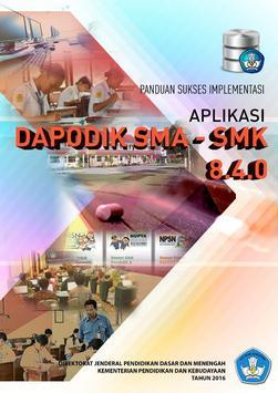 Panduan Dapodik SMA-SMK 8.4.0 poster